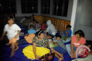 Banjir Paksa Warga Tolitoli Mengungsi
