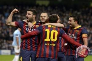 Sepak Bola - Barcelona Pimpin Klasemen Liga Spanyol
