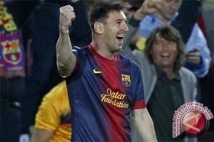 Messi dan Suarez pencetak gol terbanyak Liga Spanyol