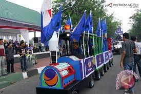 Karnaval Sulteng Hanya Dihadiri Lima Ketua Parpol