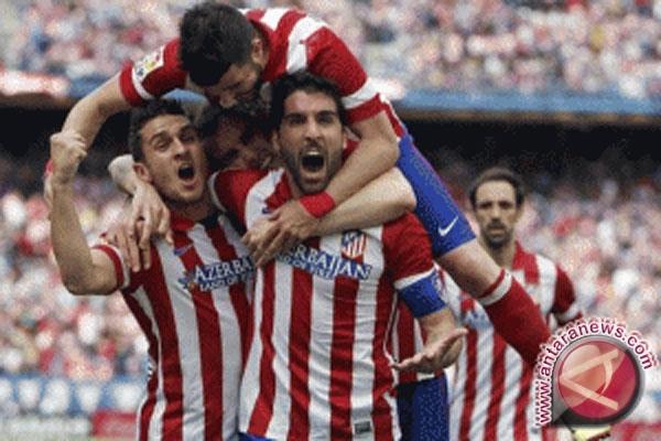 Liga Champions - Atletico Madrid ke perempatfinal usai tahan Leverkusen