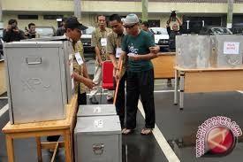 Pilpres: Partisipasi Satu TPS Donggala Capai 100 Persen
