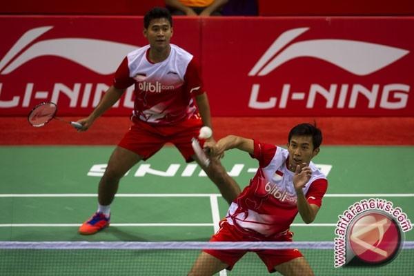 Dua ganda putra bertahan di Malaysia Masters