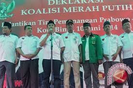 Koalisi Parpol Sulteng Optimistis Prabowo-Hatta Menangi Pilpres