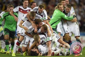Gotze Antar Jerman Juara Piala Dunia 2014