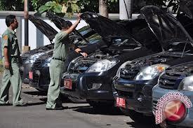 Pemerintah Kota Palu Terima Pengembalian Kendaraan Dinas