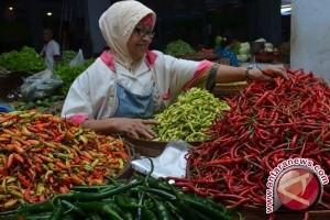 Harga cabai rawit merah di Parigi masih tinggi