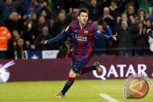 Barcelona tundukkan Real Madrid 3-2, Messi cetak dua gol