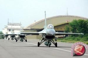 Sisa dua pesawat F-16 segera tiba di Lanud Iswahyudi