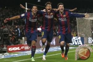 Barca menang tipis 1-1 lawan Sociedad pada Copa de Rey