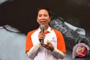 Rini Soemarno hadiri perayaan HUT 22 BUMN di Mandalika