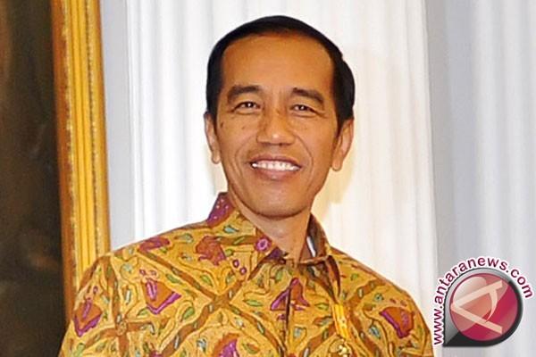 Presiden salurkan hak pilih di TPS Gambir
