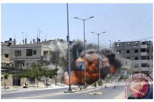 Pesawat Israel serang Gaza