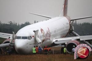 Badan Pesawat Batik Air Berhasil Dievakuasi