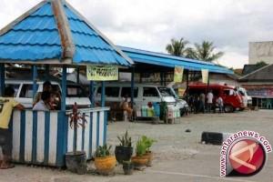 Terminal di Palu masih sepi