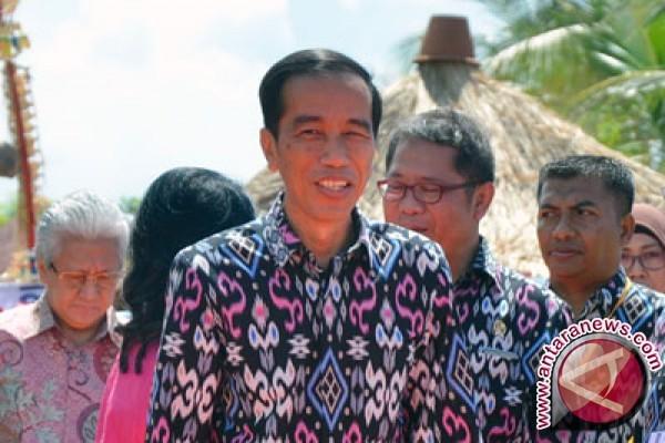 Presiden Jokowi ke Solo resmikan Pasar Klewer