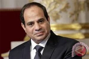 Presiden Mesir memuji Trump