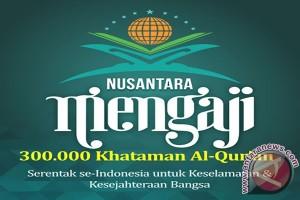 Pendaftar Nusantara Mengaji Sulteng Capai 4.000 Khatam