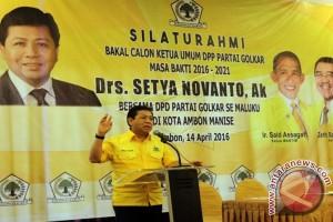 Setya Novanto Ketua Umum Partai Golkar