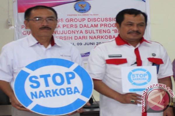 BNNP Sulteng Ajak Masyarakat Perangi Narkoba