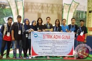 STMIK  Adhi Guna Juara Desain Robot 2016
