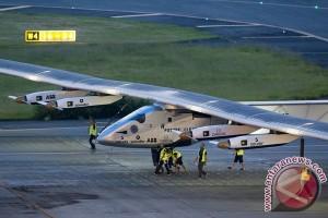 Pesawat Bertenaga Surya Mendarat Di News York