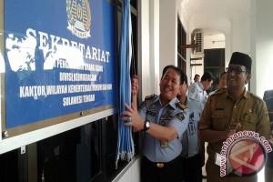 Direktur Pengawasan dan Penindakan Resmikan Sekretariat TIMPORA Sulteng