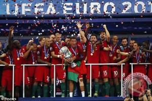 Euro 2016 - Portugal Juara Kalahkan Prancis 1-0