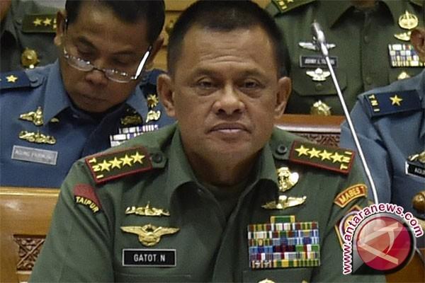 Panglima TNI ingatkan Capaja TNI-Polri jaga soliditas