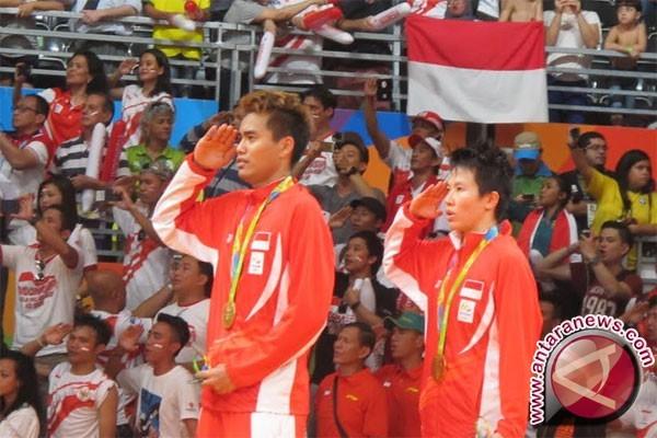 Tontowi/Liliyana diarak keliling Jakarta hari ini dan besok