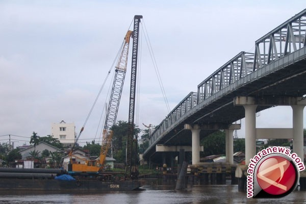 Palu Bangun Jembatan Lima Panjang 100 Meter