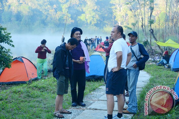 Objek Wisata Danau Tambing Dikunjungi 21.691 Wisatawan