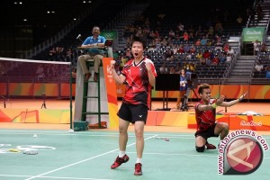 Tontowi/Liliyana bertarung 71 menit untuk lolos perempat final Denmark