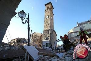 PM Italia bersumpah selamatkan semua korban gempa 6,2 SR