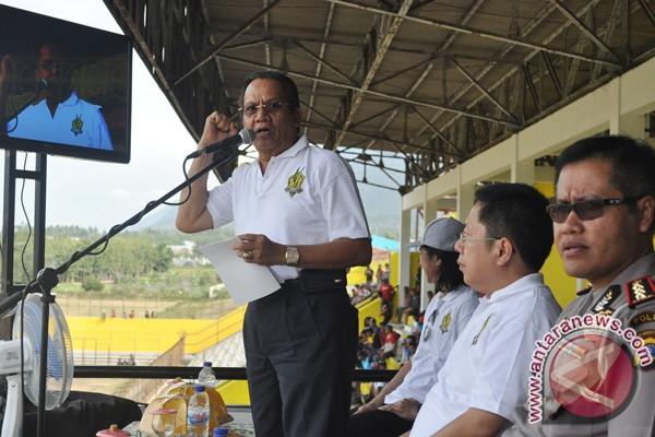 Gubernur Sulteng Canangkan Gerakan Makan Sayur