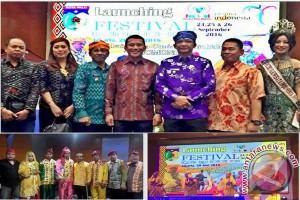 Festival Palu Nomoni Sediakan Sembilan Panggung Pertunjukkan