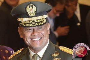 Panglima TNI bersyukur Presiden telah tentukan panggantinya