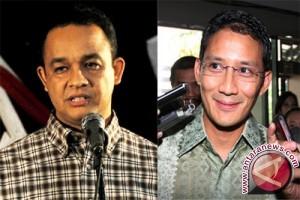 Anies - Sandi membangun Jakarta tanpa air mata