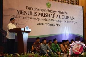 Kemenag canangkan budaya menulis mushaf Alquran