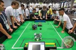 Robot AS kalahkan robot Australia dalam sepak bola