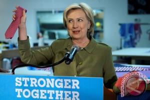 Hillary Clinton diprediksi menang menuju Gedung Putih