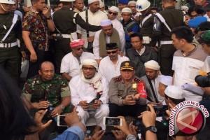 Tiga perwakilan demonstran diterima pemerintah