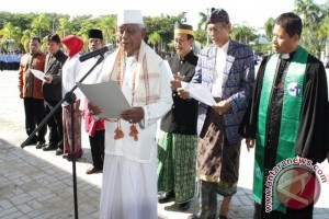 Tokoh lintas agama dan etnis Parimo gelar Deklarasi Kebhinekaan