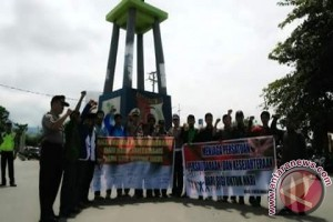 Mahasiswa Baru IAIN Palu Deklarasi Anti Radikalisme