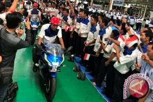 Suzuki mulai produksi perdana GSX-R 150 di Indonesia