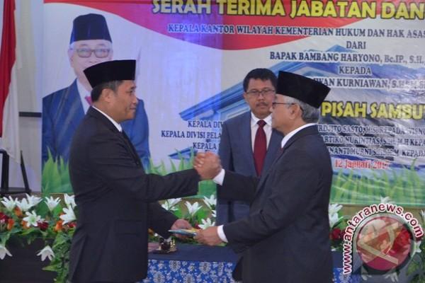 Iwan Kurniawan, Kakanwil baru Kemenkumham Sulteng