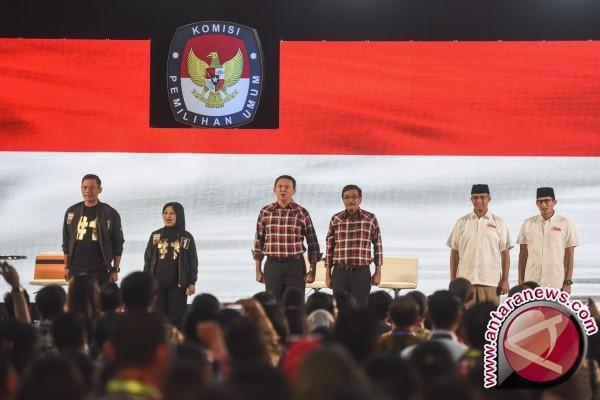 KPU DKI puji kedua moderator
