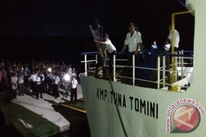 Toboli - Togean - Gorontalo kini dilayari kapal feri