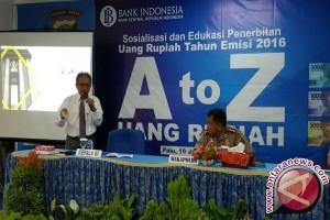 BI Sulteng Gencar Sosialisasikan Rupiah Emisi 2016