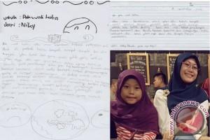 Anak SD Curhat Lewat Surat ke Wali Kota Palu